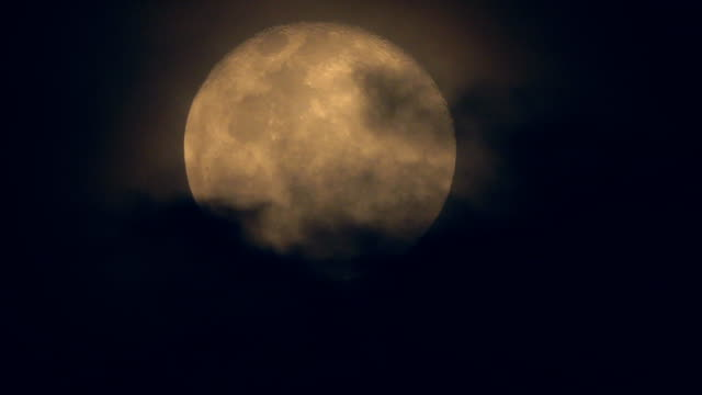 full moon and cloud budge - coffin stock videos & royalty-free footage