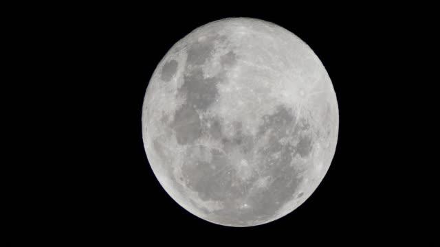 full moon on the dark night - binoculars stock videos & royalty-free footage