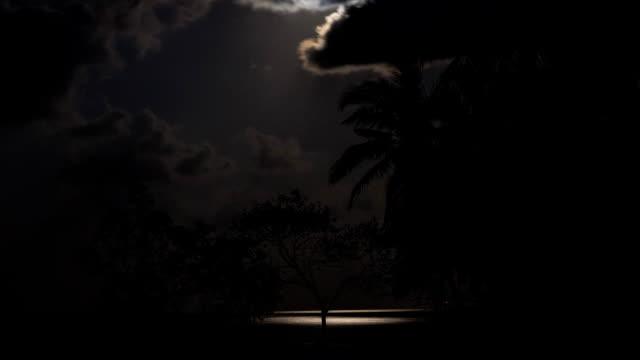 Fullmåne över havet
