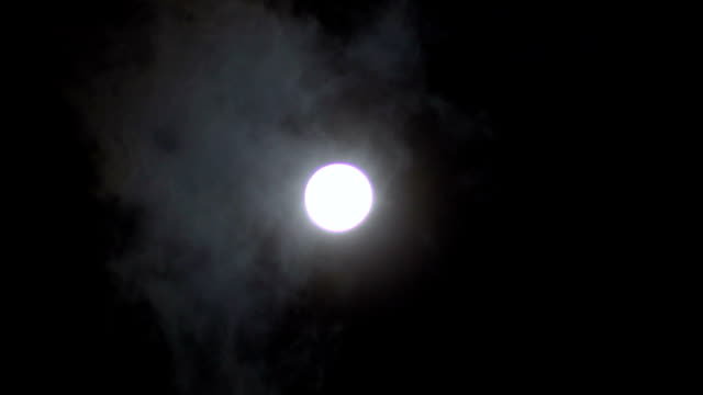 full moon over the clouds - 1969 stock videos & royalty-free footage