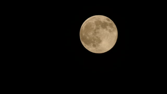 full moon rising night sky - full hd format stock videos & royalty-free footage