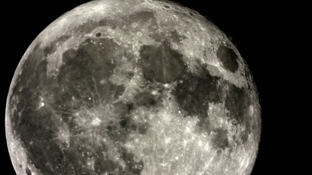 full moon - moon surface stock videos & royalty-free footage
