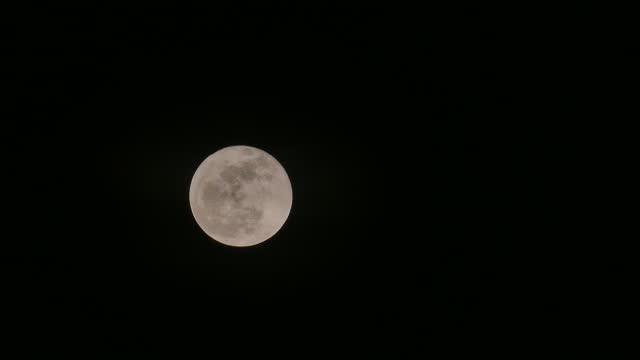 vidéos et rushes de pleine lune - système solaire