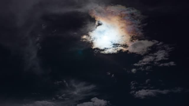 full moon with moving clouds, time lapse video - atmospheric mood stock videos & royalty-free footage