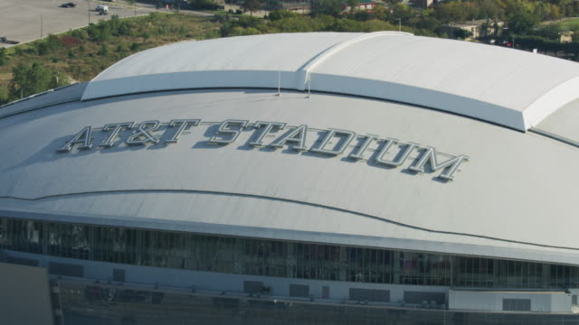 full shot of the at&t stadium sign - southwest usa stock videos & royalty-free footage