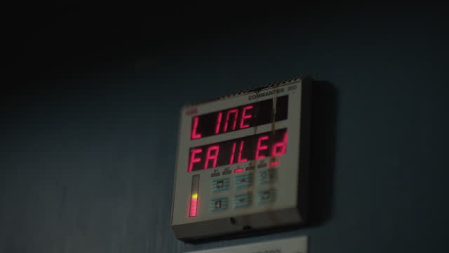 full shot on an alarm display - mistake stock videos & royalty-free footage