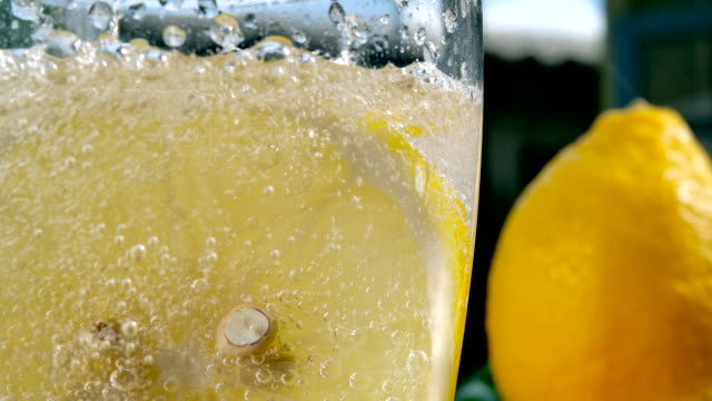 full soda lamon water - close to stock videos & royalty-free footage