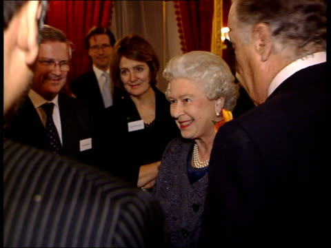 NSPCC 'Full Stop' campaign Reception at St James' Palace The Queen meeting members of the NSPCC's 'Stop Organised Abuse' appeal and other guests