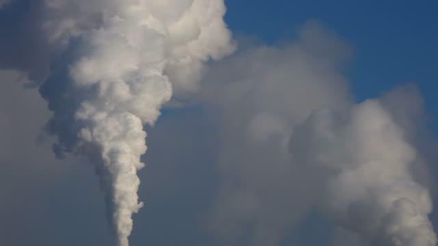 Fumes - factory chimneys