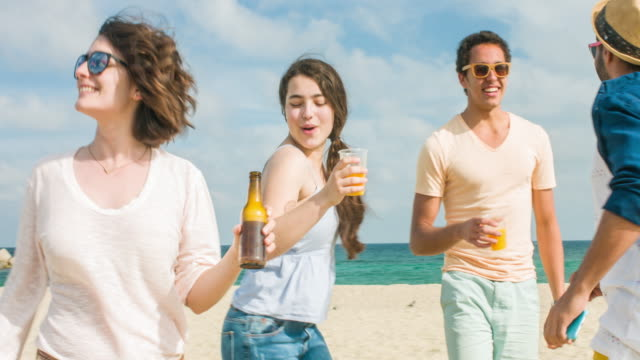 Fun at in the beach