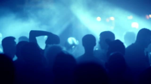 Fun at nightclub