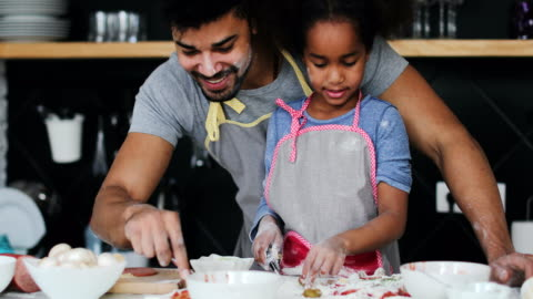 fun in the kitchen - kitchen stock videos & royalty-free footage