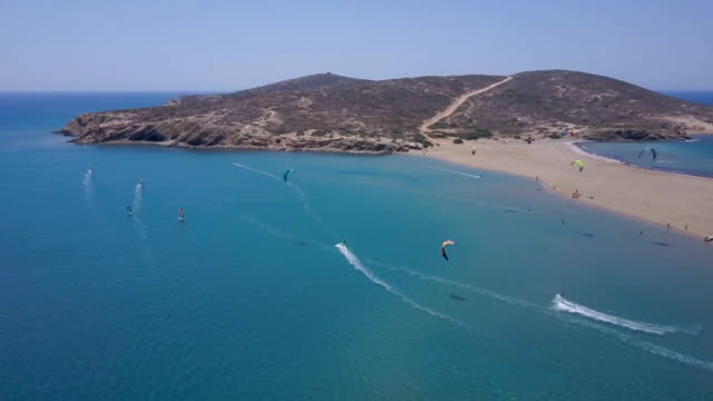 fun in the sun - rhodes dodecanese islands stock videos & royalty-free footage