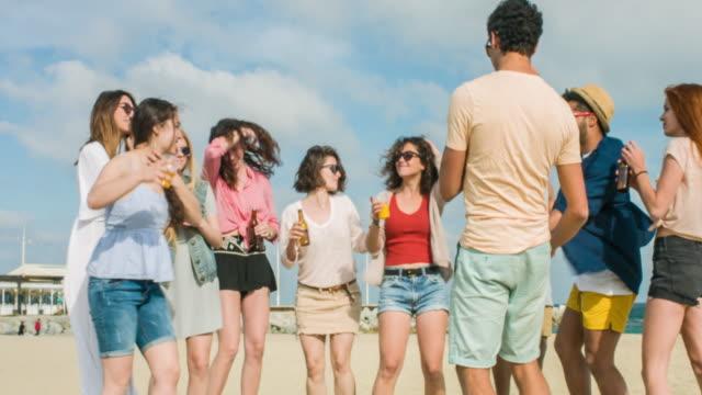 Fun party in the beach