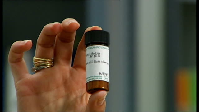 Funding cuts threatened for homeopathic hospitals Reporter to camera