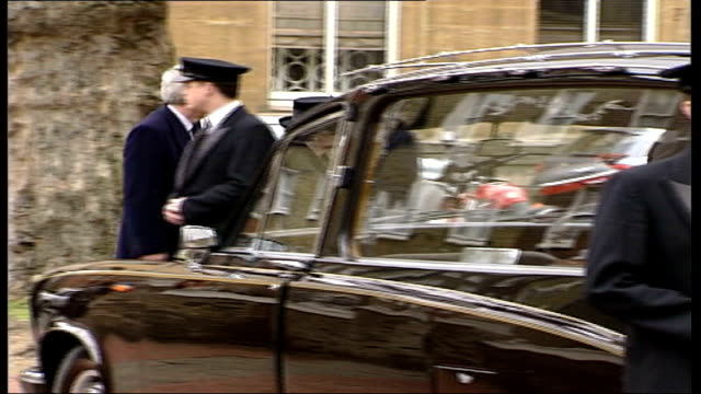 funeral of john profumo held in knightsbridge knightsbridge former conservative prime minister baroness margaret thatcher along to church clean feed... - {{relatedsearchurl(carousel.phrase)}} stock videos & royalty-free footage