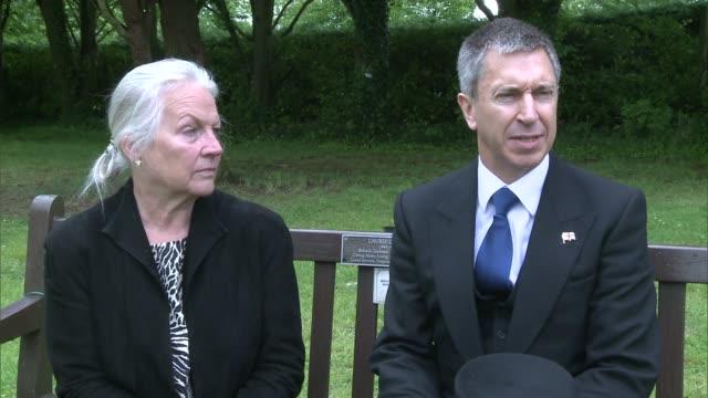 Funeral of US World War II veteran Melvin Rector EXT Neil Sherry interview SOT Maddie Ogden interview SOT