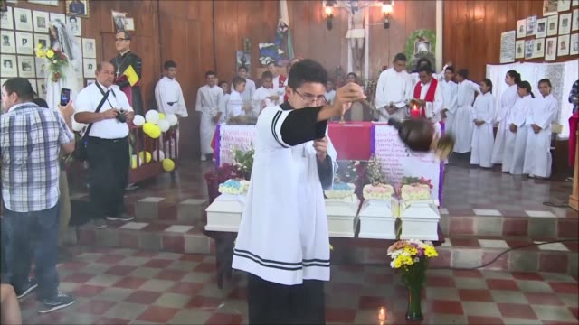 A funeral ways held Friday in Arcatao for six children who died during an operation by the Salvadorian army in the framework of the 19801992 civil...