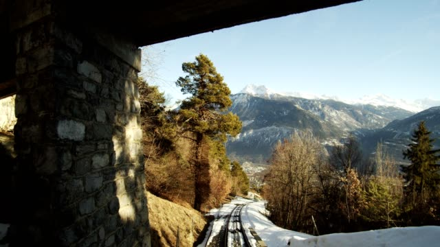 funicular - overhead cable car stock videos & royalty-free footage
