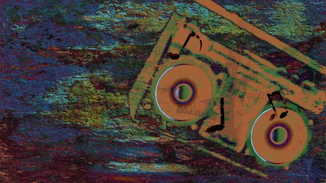 stockvideo's en b-roll-footage met funky music - graffiti