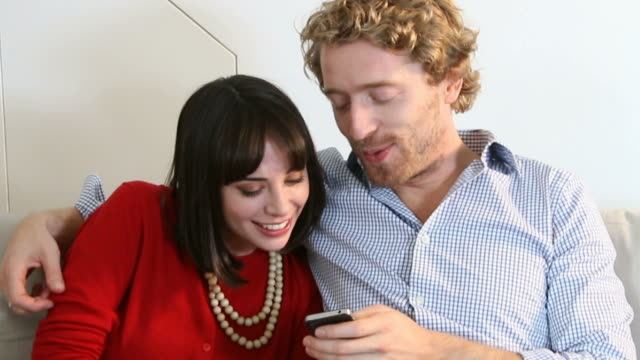Funny, Cellphone fun. Couple.