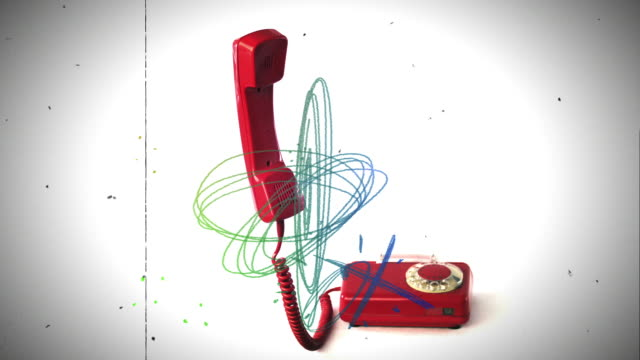 funny phone rings - telephone receiver stock videos & royalty-free footage