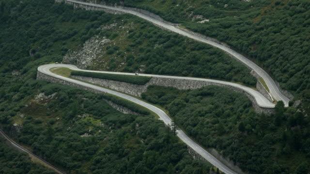Furka Pass Road near Gletsch , Canton of Valais, Switzerland