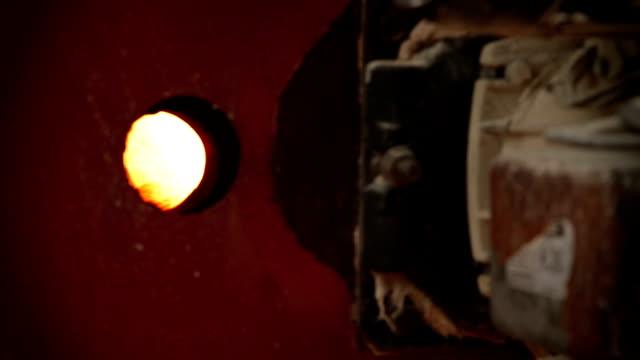 hd: furnace burner - kiln stock videos and b-roll footage
