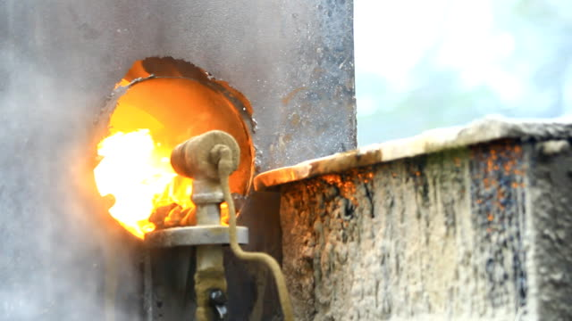 furnace fire - kiln stock videos and b-roll footage