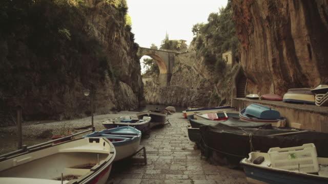 Furore fjord: Amalfi coast and Sorrento peninsula