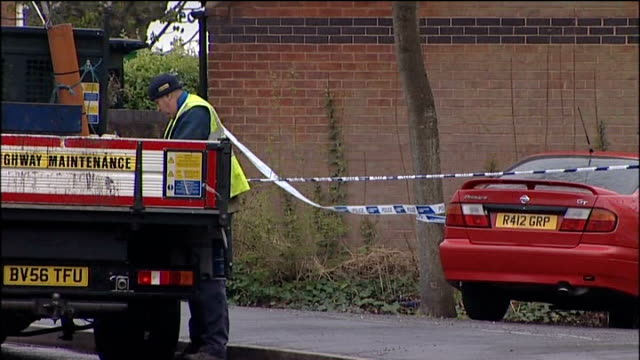 further controlled explosions at suspect's bristol home vox pop bomb disposals vans outside house remote controlled device wheeled out of back of... - remote controlled stock videos and b-roll footage
