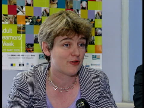vidéos et rushes de further education colleges cut adult places ruth kelly mp press conference sot individual colleges have the decision to make on how they fund their... - turning on or off