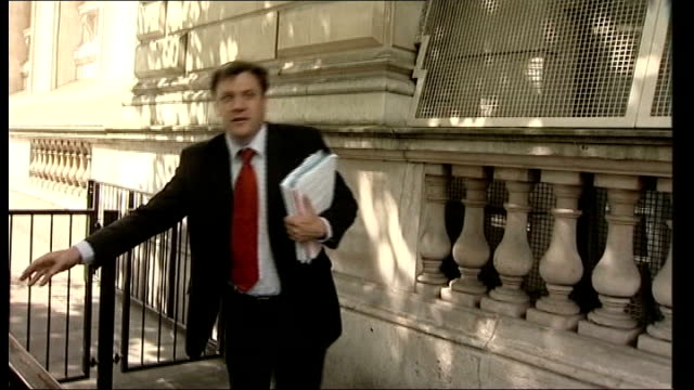 further new government appointments / london car bombs; des browne mp along from cabinet meeting ed balls mp out from cabinet meeting harriet harman... - cabinet member stock videos & royalty-free footage
