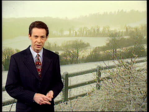 Further snow prompts calls for restructure of government cold weather payments ENGLAND Kent over snowcovered Kent countryside INT