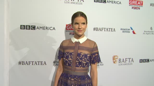 fuschia sumner at the bafta los angeles awards season tea party at four seasons hotel los angeles at beverly hills on january 09 2016 in los angeles... - tea party stock videos and b-roll footage