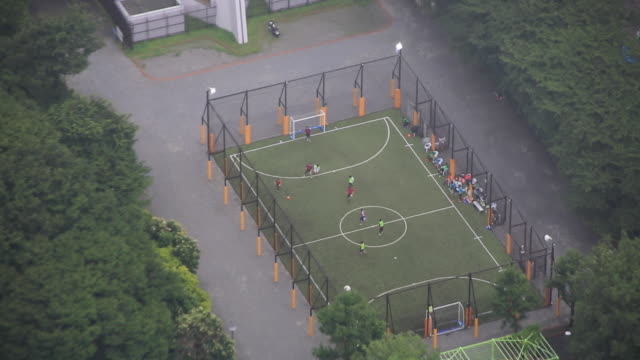 futsal court - football pitch stock videos & royalty-free footage