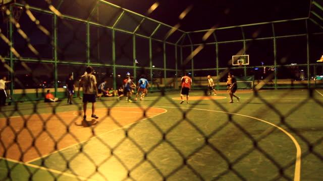 futsal - indoor soccer stock videos & royalty-free footage