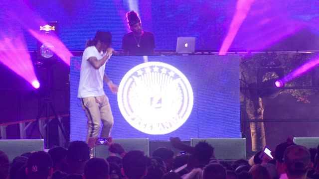 """future at the reid and epic records host """"epicfest 2016"""" at sony studios on june 25, 2016 in los angeles, california. - sony stock-videos und b-roll-filmmaterial"""