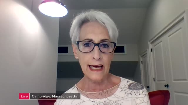 future for the relationship between the two countries usa massachusetts cambridge@ int professor wendy sherman live interview via interview sot... - massachusetts stock videos & royalty-free footage