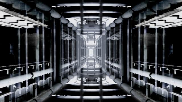 Futurist Lift Tunnel