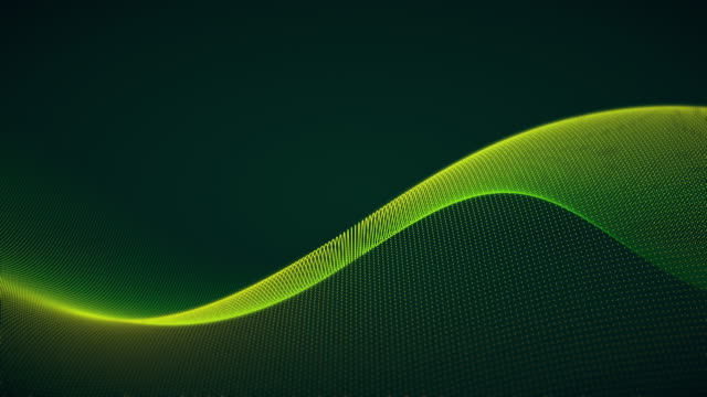 futuristic abstract wave pattern backgrounds - loopable moving image stock videos & royalty-free footage