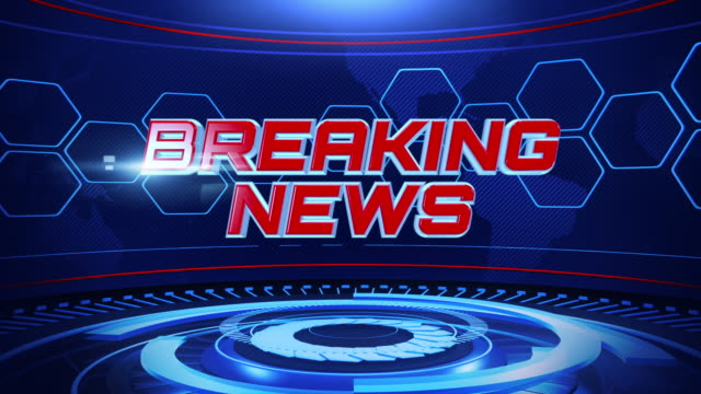 futuristic breaking news loopable,motion graphics - breaking stock videos & royalty-free footage