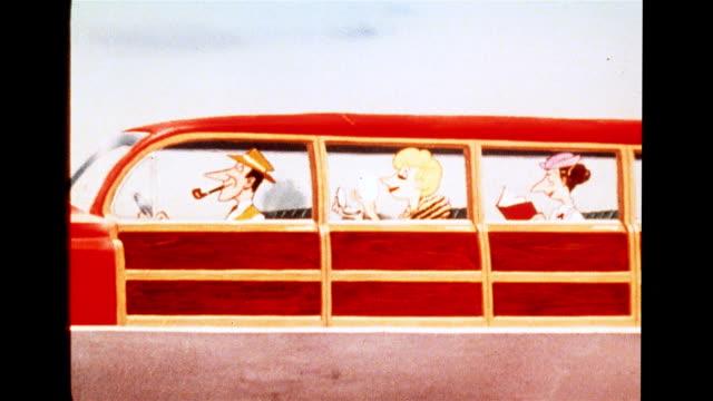 Futuristic car: king size family station wagon