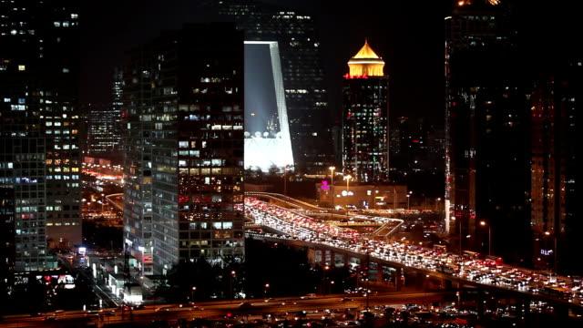 vídeos de stock, filmes e b-roll de futuristic city--beijing,china - pequim