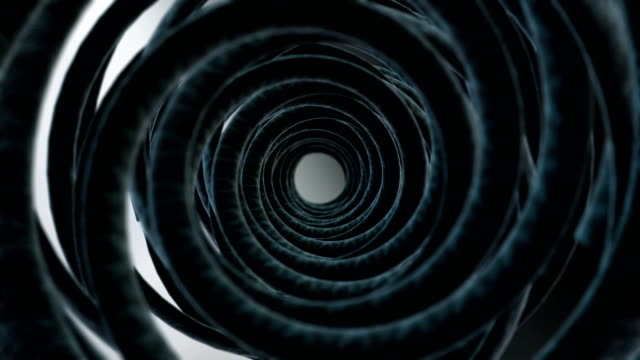 vídeos de stock, filmes e b-roll de metal futurista túnel limpo - aço