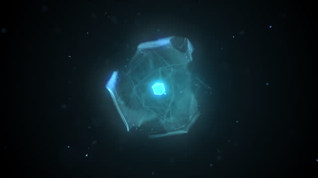 futuristisches cloud computing - artificial intelligence concept - pulsierend stock-videos und b-roll-filmmaterial