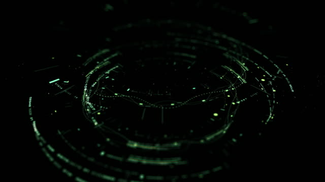 Futuristic Digital 5G Holographic Icon