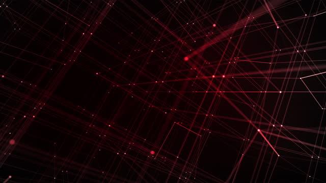futuristic digital blockchain background, fintech technology - capital letter stock videos & royalty-free footage