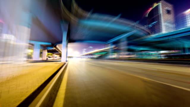 Futuristic drive timelapse hyperlapse VETTA
