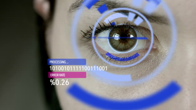 stockvideo's en b-roll-footage met futuristic female cyborg - identity